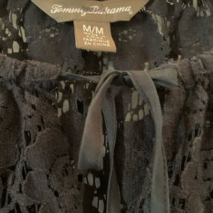 Tommy Bahama Tops - Tommy Bahama black lace top with keyhole cutout